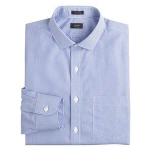 J. Crew Slim Ludlow Traveler Gingham Dress Shirt